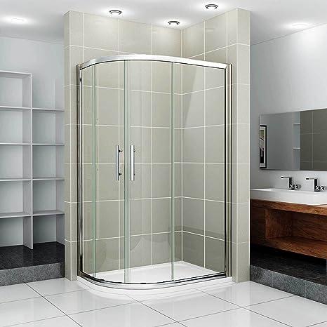 Offset cuadrante ducha 1000 x 800 mm derecha Kit elevador: Amazon.es: Hogar