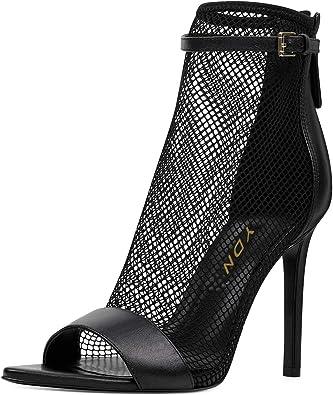 YDN Women Open Toe Stiletto High Heel