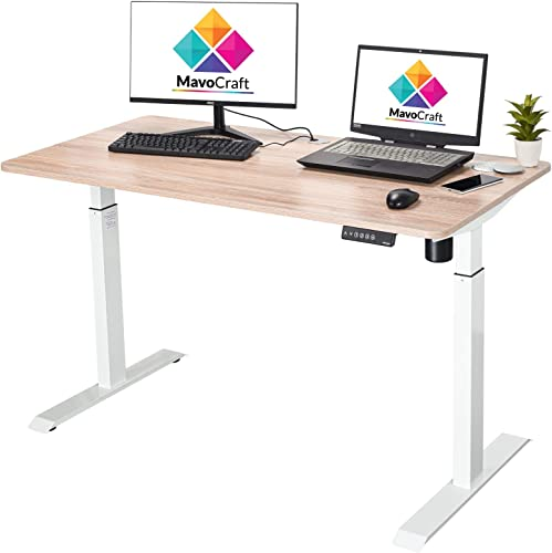 55-Inch Electric Height Adjustable Sit and Stand Desk