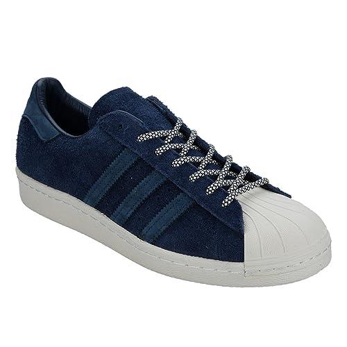 adidas Originals Baskets Superstar 80S Bleu Homme
