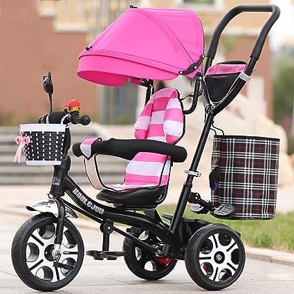 Baby stroller- Triciclos para niños Cochecito de bebé Cochecito de bebé Bicicleta para bebés Bicicleta