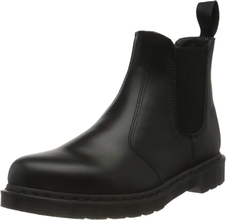 Dr.Martens Unisex 2976 Mono Smooth Leather Botas