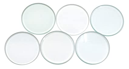 Lens Glass Double Concave 38mm x 20cm Pack of 6