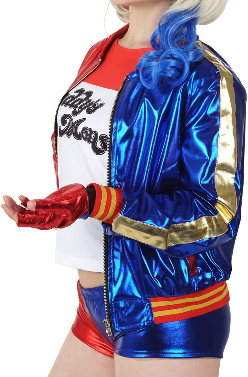 KeySmart Quinzel Harley Quinn Costume da donna F