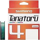 シマノ(SHIMANO) PEライン タナトル 4本編み 300m マルチカラー PL-F74R