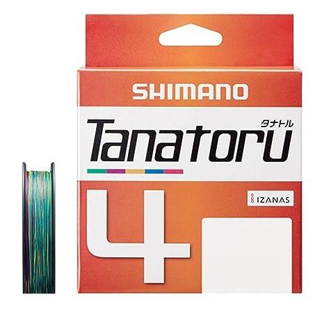 シマノ(SHIMANO)PEラインタナトル4本編み200mマルチカラーPL-F64Rの画像