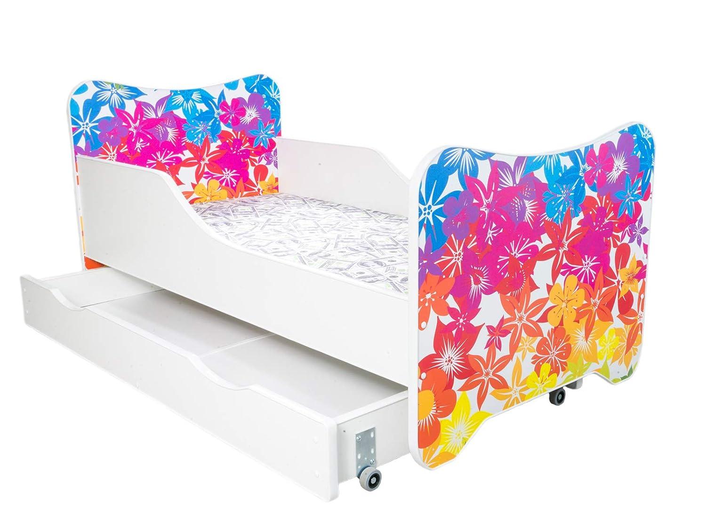 Möbel Alcube Kinderbett Ab 2 Jahre Bis 150 Kg Motiv 140x70
