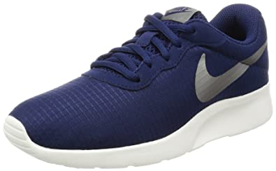 cheap for discount 3d5c5 301ba Nike Women s WMNS Tanjun Se Trainers, Blue (Binary Blue Sail Metallic Pewter