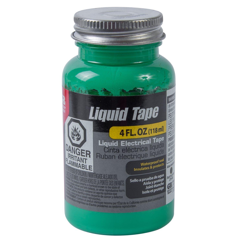 Gardner Bender LTG-400 Waterproof Liquid ELECTRICAL Tape, 4 Oz, green