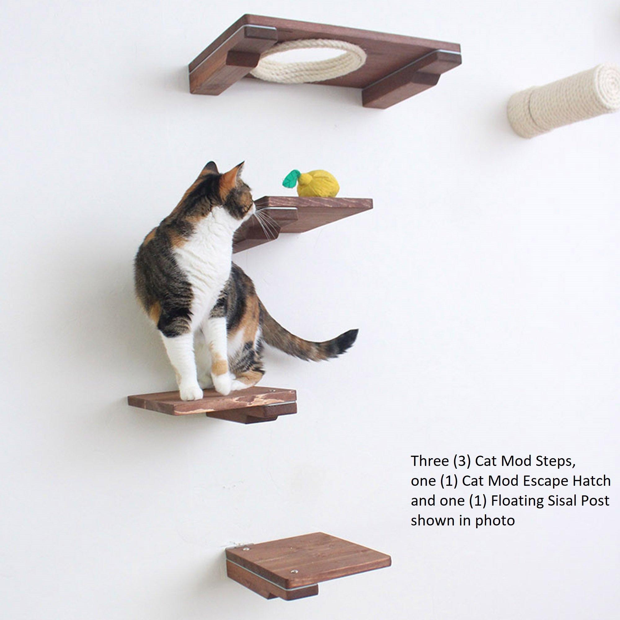 The Cat Mod – Wooden Cat Step Shelf