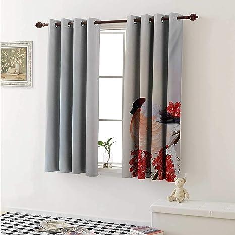 Magnificent Amazon Com Shenglv Rowan Customized Curtains Christmas Home Interior And Landscaping Mentranervesignezvosmurscom