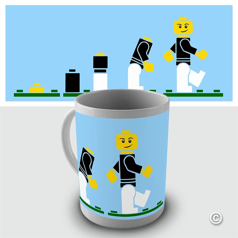 Evolution ape to man Lego evolution mug