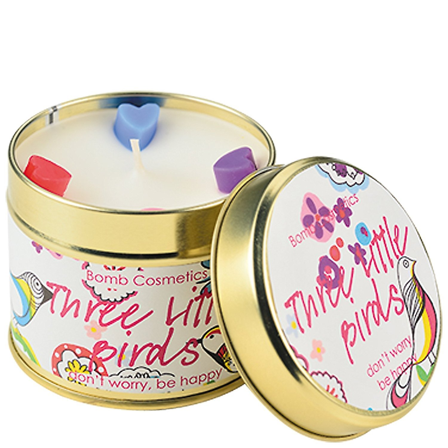 Bomb Cosmetics Three Little Birds Tin Candle