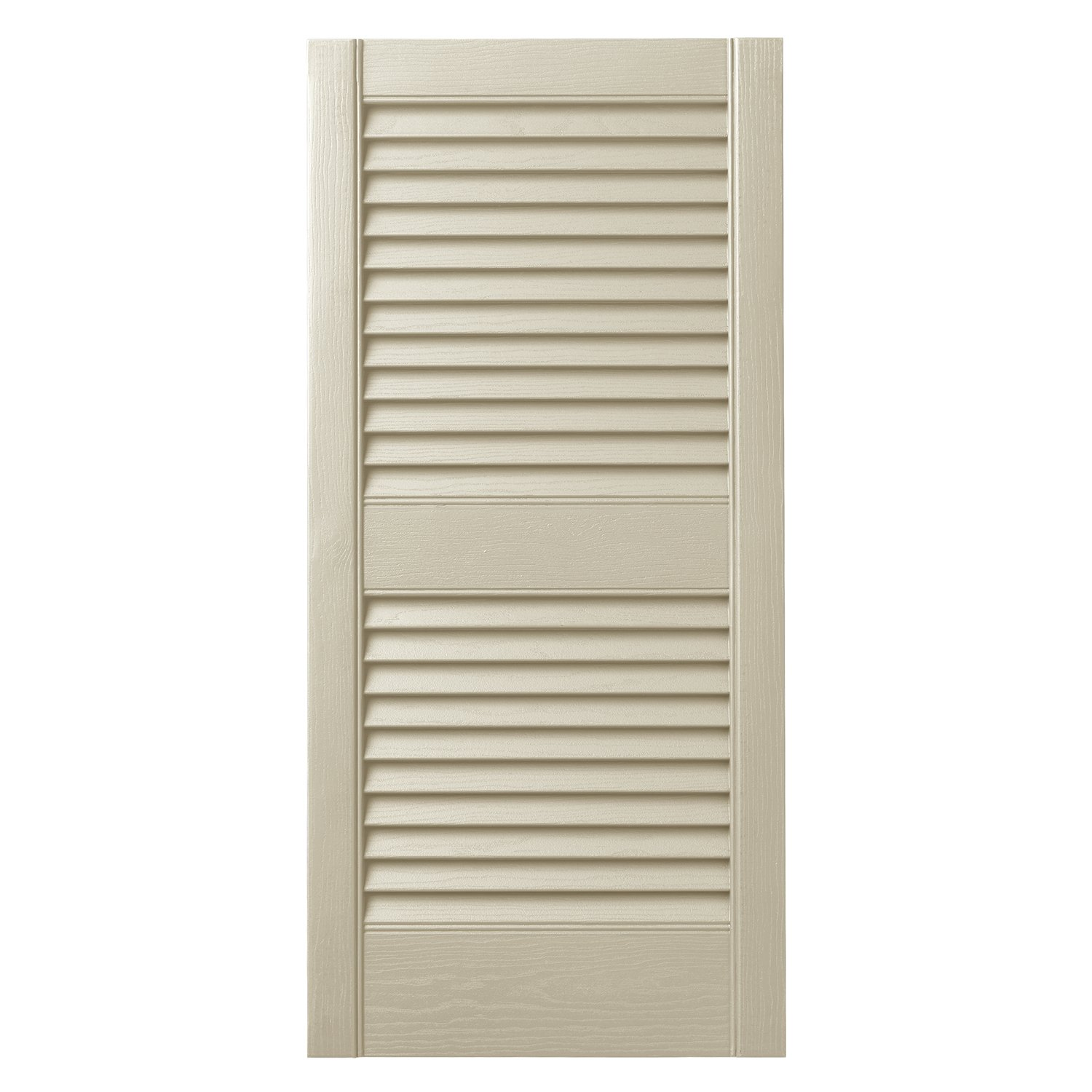 Ply Gem Shutters and Accents VINLV1525 93 Louvered Shutter 15 Spanish Moss