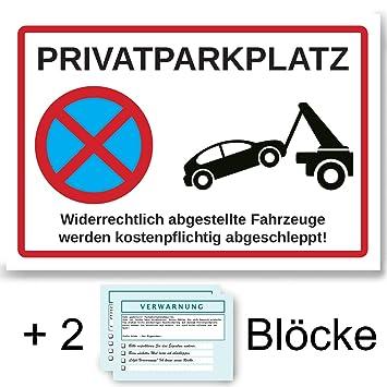 Cartel de Aparcamiento Privado Aluminio, Prohibido aparcar + ...