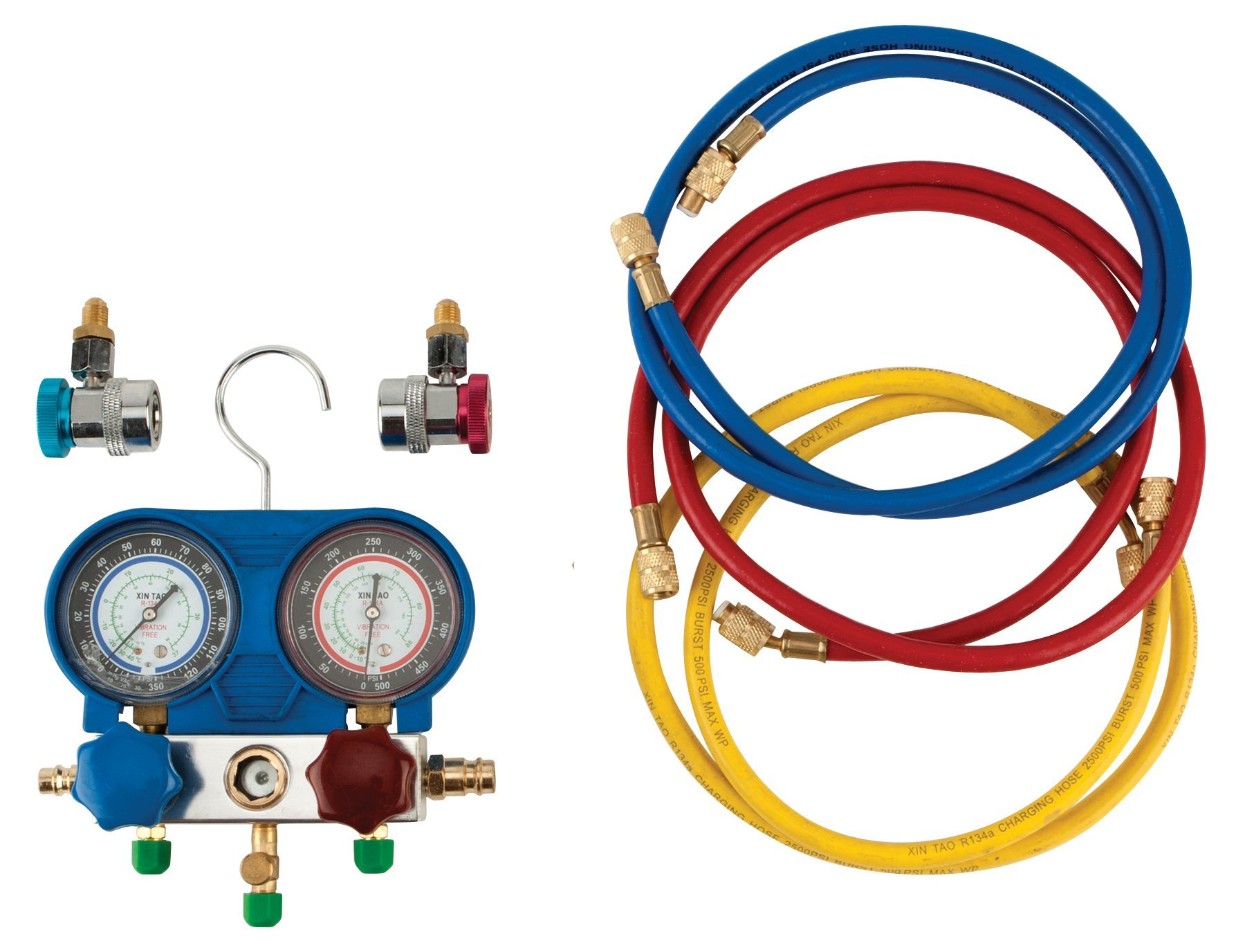 Performance Tool W89730 A/C Manifold Test Gauge Kit by Performance Tool (Image #2)