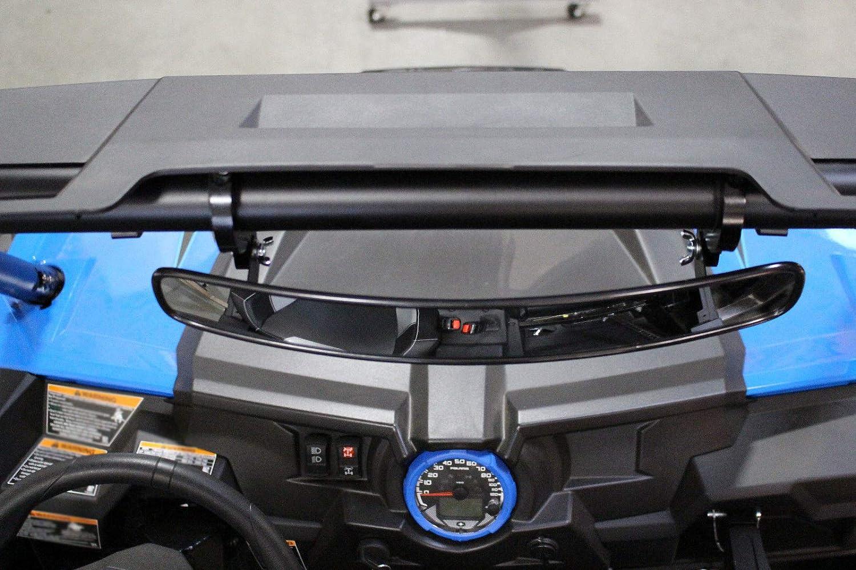 FidgetFidget Rear View Mirror 15' Kit with 1.75' Clamp for Polaris RZRs 570 800 900 1000 Part