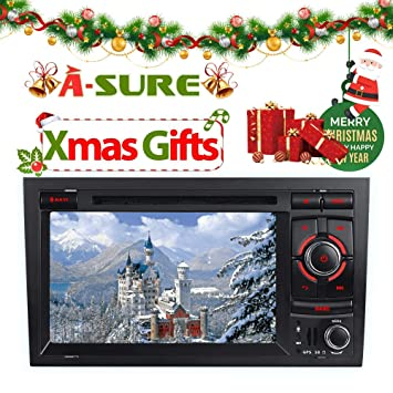 A de Sure 7 DVD GPS Radio de Coche 3 G vmcd WiFi Bluetooth Radio