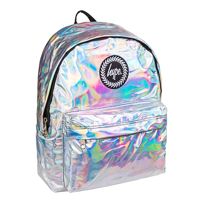 Hype Holografico Mochila Bolso - Ideal Bolsas De Escuela - mochila para niños y niñas: Amazon.es: Zapatos y complementos