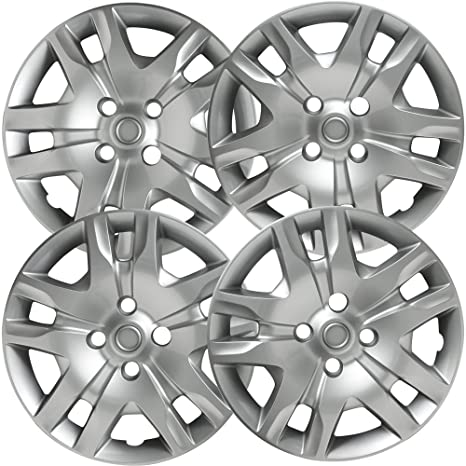 amazon oxgord hubcaps for nissan sentra pack of 4 wheel 08 Nissan Models amazon oxgord hubcaps for nissan sentra pack of 4 wheel covers replaces 16 inch 4 spoke snap on silver automotive