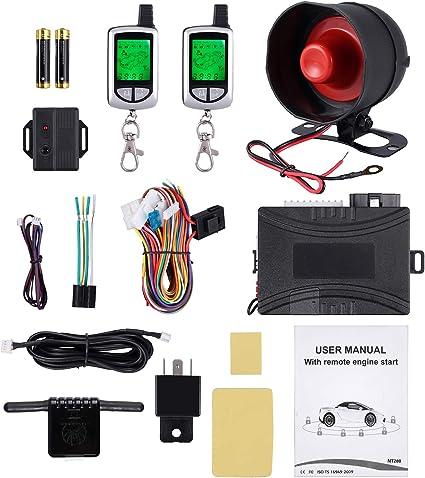 Mikrowellensensor f/ür 2-Wege Alarmanlagen f/ür KFZ+Motorrad