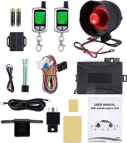 Sicherheitssystem Kit Auto Diebstahlschutz Alarmanlage Elektronik