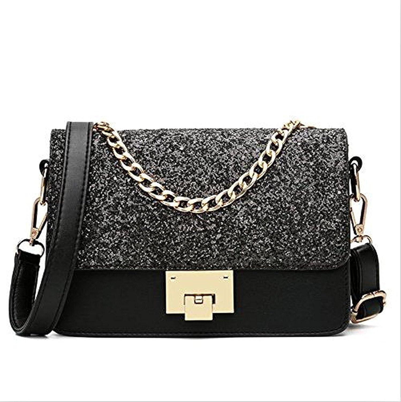 Evening Bags for Women Crossbody Bag Chain Shoulder Evening Clutch Black Purse Formal Bag