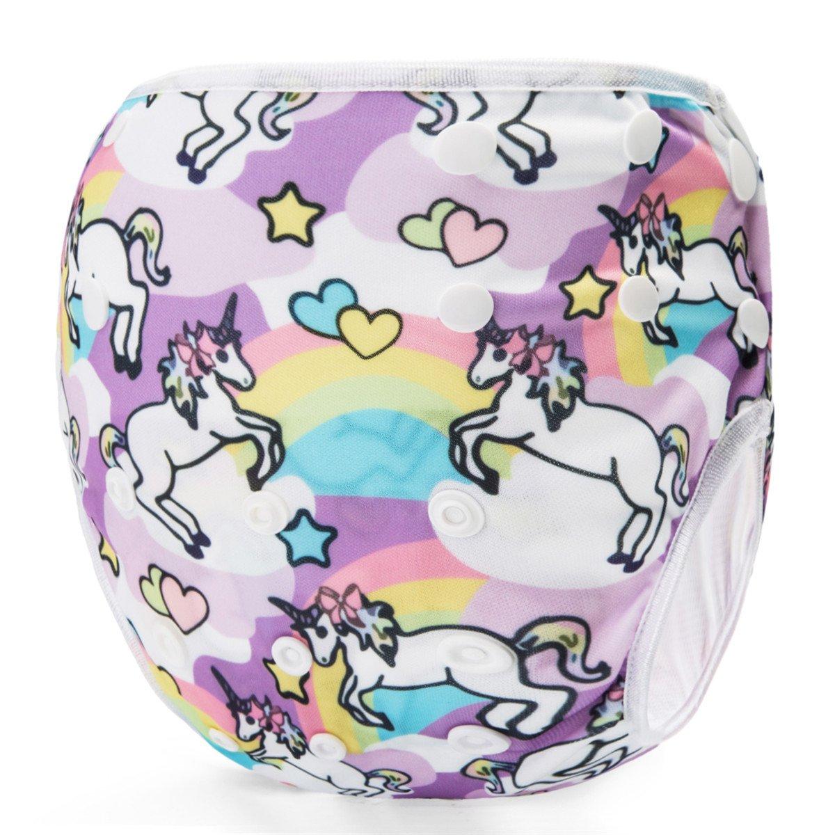 Storeofbaby Baby Reusable Swim Diaper Adjustable Washable Infant Swimwear