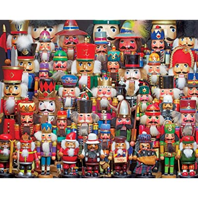Springbok 1000 Piece Jigsaw Puzzle Nutcracker Collection: Toys & Games