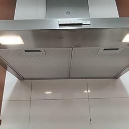 Balay 3BC666MX - Campana, color gris: 135.56: Amazon.es: Grandes electrodomésticos