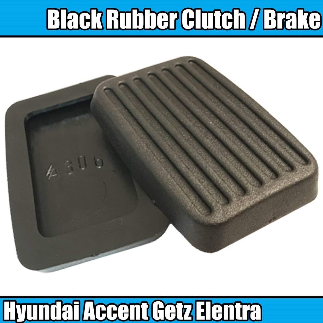 Nero JIUY 2X per Hyundai Accent Getz Elentra Excel Scoupe Frizione del Freno del Rilievo del Pedale gomme