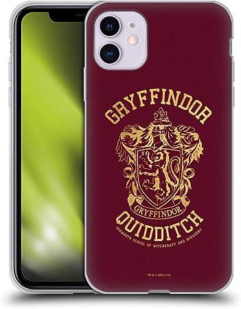 Head Case Designs Offiziell Zugelassen Harry Potter Gryffindor Quidditch Deathly Hallows X Soft Gel Handyhülle Hülle Huelle Kompatibel Mit Apple Iphone 11 Elektronik