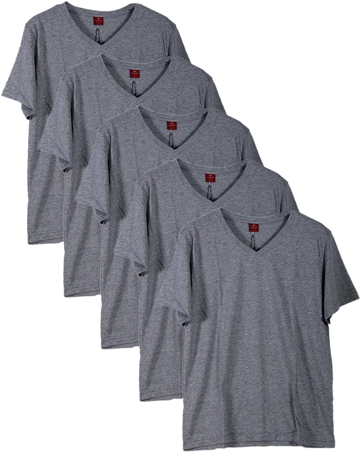 Godsen Boys 1//3//5 Pack 100/% Cotton T-Shirt V-Neck Undershirts B-8331601