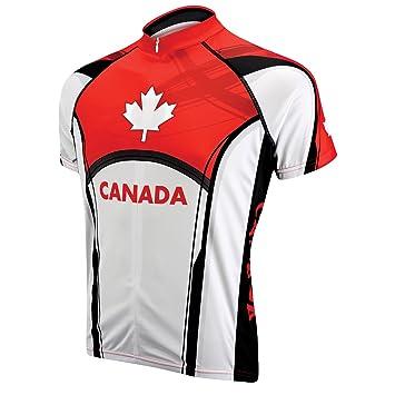 Amazon.com: Primal Wear Canadá Shortsleeve Maillot de ...