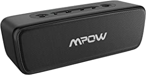 Bluetooth Speaker, Mpow Portable Speaker, Hi-Fi 20W Loud Sound w/Deep Bass,30H Playtime Mini Speaker, Waterproof IPX7, TWS Wireless Speaker for Outdoor/Home/Office, for Phone/PC/Laptop etc.