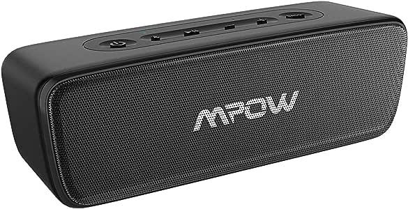 Bluetooth Speaker, Mpow Portable Speaker, Hi-Fi 20W Loud Sound w/Deep Bass,30H Playtime Mini Speaker, Waterproof IPX7, TWS Wireless Speaker for Outdoor/Home/Office, for Phone/PC/Laptop etc.