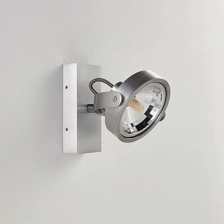- Deckenleuchte f/ür K/üche 1 flammig, G9, A+, inkl. Leuchtmittel Strahler Spot ARCCHIO LED Deckenlampe Lieven dimmbar Modern in Alu aus Aluminium u.a Lampe Wandleuchte