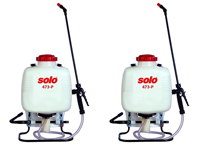Amazon.com : Solo 473-P 3-Gallon Professional Backpack Sprayer, Pressure Range up to 90 psi (Pack of 2) : Garden & Outdoor