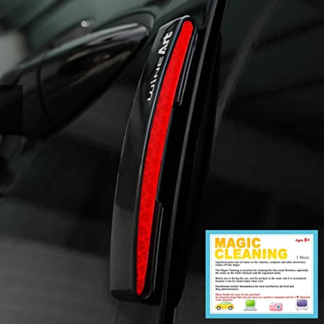 Car Door Protect Reflector Guard Prevent Scratche Protector Edges Blue Durable