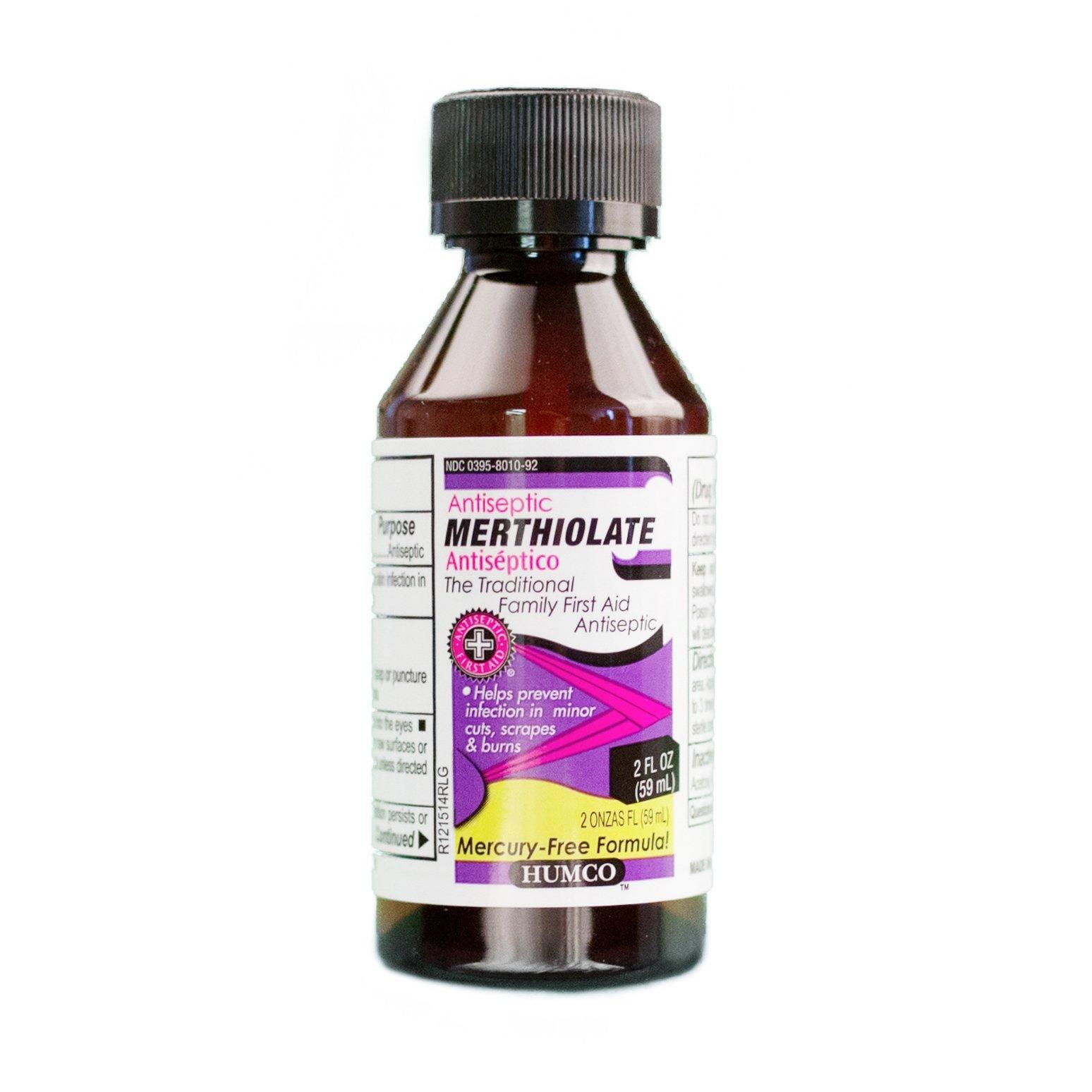 HUMCO 174992001 Merthiolate 2 oz, Shape