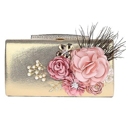 KAXIDY Carteras de Mano Floral Bolsos Pequeños Mujer Fiesta ...