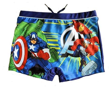 a88de0ea8f Avengers - Super Heroes Avengers - Boys Swimming Trunks Swimsuit - Blue -:  Amazon.co.uk: Clothing