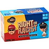 Gifts for Men: RIGHT OR RACIST - Funny Adult Party Game - Hilarious NSFW Game - Gag Gifts - Birthday Gifts for Men - Women