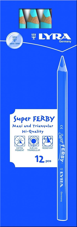 LYRA Super Ferby Kartonetui mit 12 Farbstiften, kupfer B00752JNYK B00752JNYK B00752JNYK | Spielzeugwelt, spielen Sie Ihre eigene Welt  30dbad