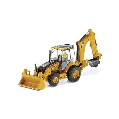 Caterpillar 450E Backhoe Loader HO Series Vehicle: Toys & Games