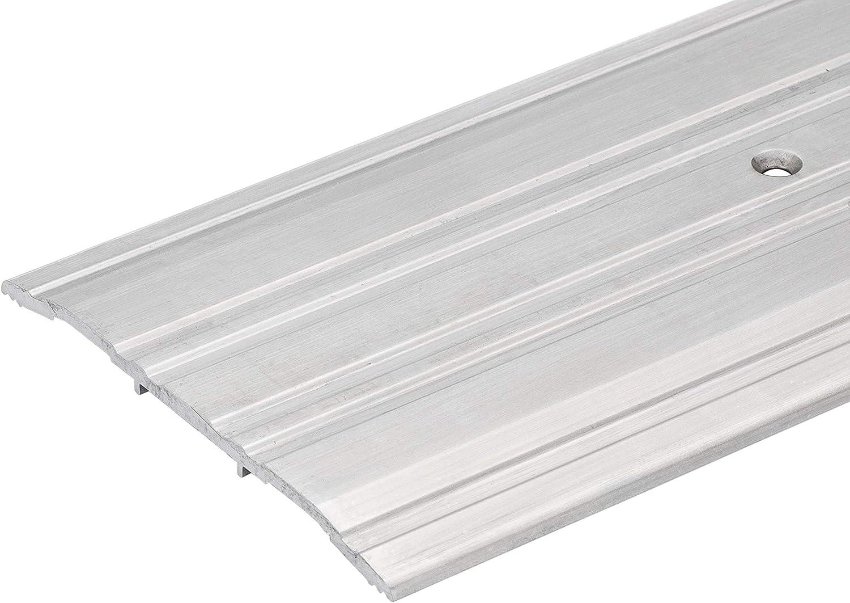 48 3//4 Long 4 FT 4 Wide x 1//4 High Corrugated Aluminum Threshold