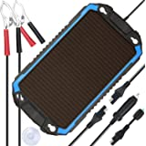 SUNER POWER 12V Solar Car Battery Charger & Maintainer - Portable 2.4W Solar Panel Trickle Charging Kit for Automotive…