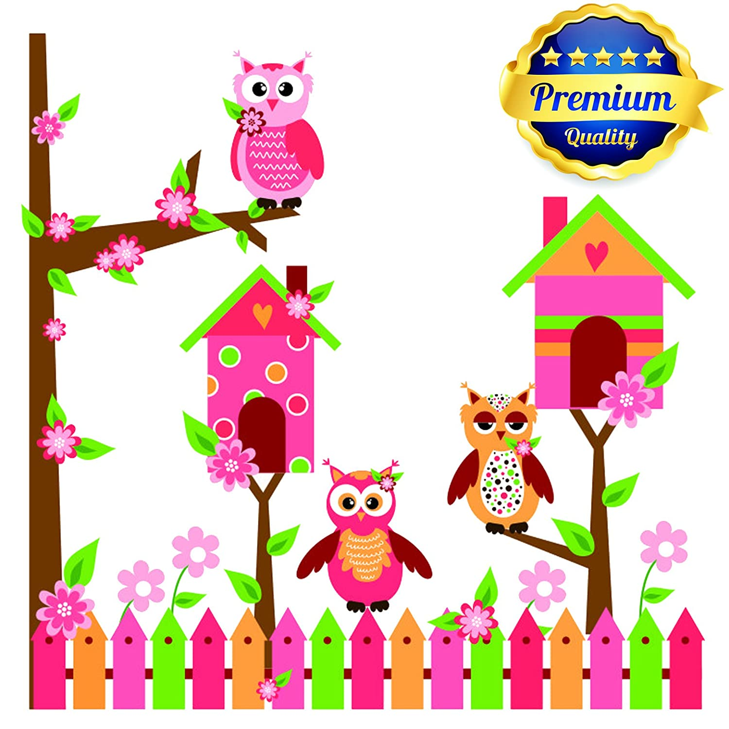 1 Notebook 565108 B00vyl95qe Baby Room Wall Decals Owls