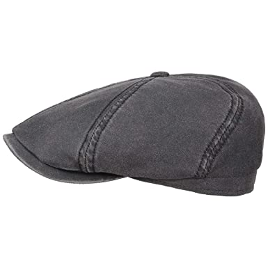 ff24b4832 Stetson Brooklin Old Cotton Flat Cap Men | Ivy hat Summer with Peak ...