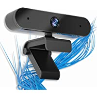 Deals on Crazy 5 Webcam with Microphone 1080P HD Web Camera